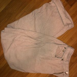 Vintage Corduroy high-waisted pants
